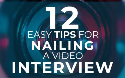 12 easy tips for nailing a Video interview