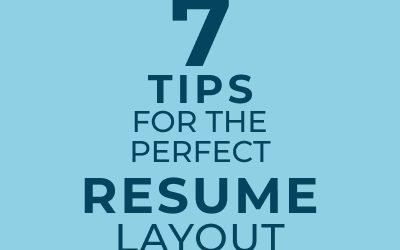 How to Have the Perfect Resume Layout