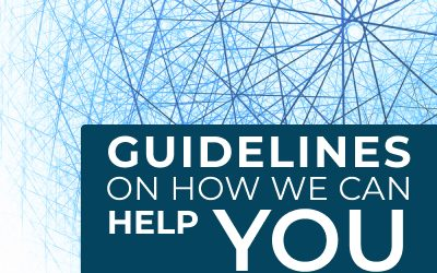 Guidelines on how we can help you