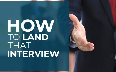 How to Land that Interview!